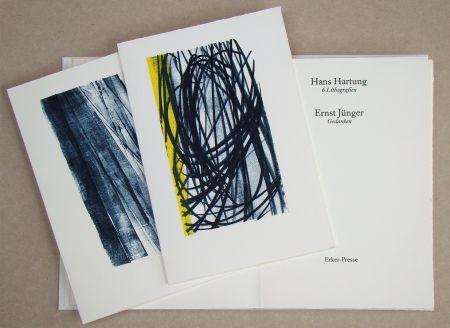 Illustriertes Buch Hartung - Hans Hartung 6 Lithografien & Ernst Jünger Gedanken