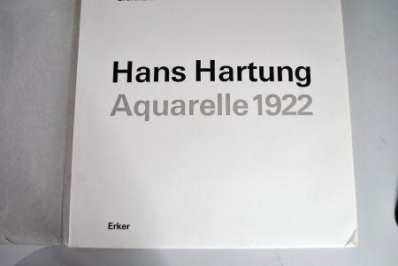 Illustriertes Buch Hartung - Hans Hartung Aquarelle 1922