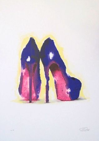Siebdruck Tilt - Heels (Purple)