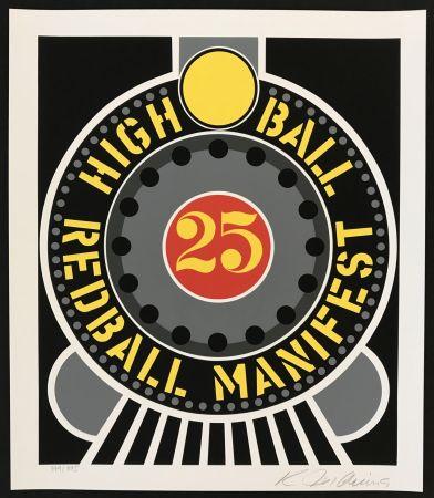 Siebdruck Indiana - Highball on Redball Manifest