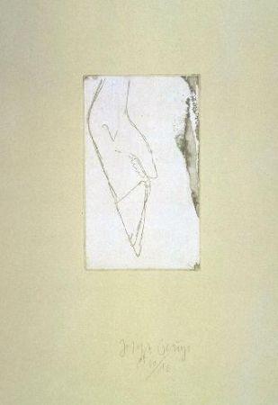 Radierung Und Aquatinta Beuys - Hirschfuss