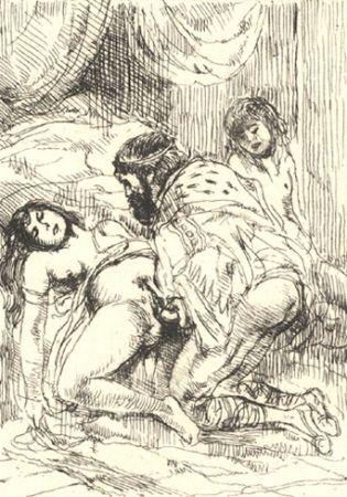 Illustriertes Buch Brouet - Histoire du roi Gonzalve et des douze princesses