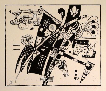 Holzschnitt Kandinsky - (Holzschnitt um 1935)