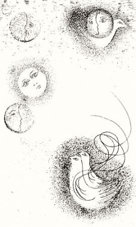 Illustriertes Buch Melotti - Homage to Sextus Propertius