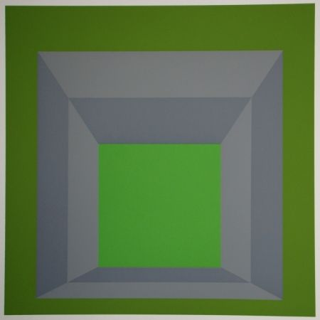 Siebdruck Albers - Homage to the Square