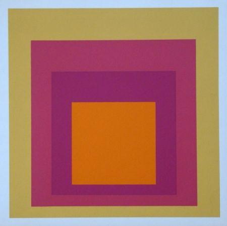 Siebdruck Albers - Homage to the Square - La Tehuana, 1951-1956