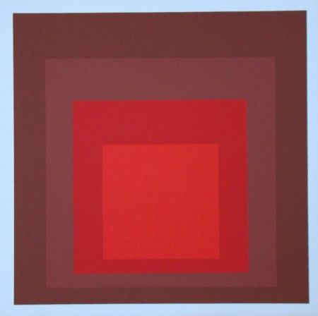 Siebdruck Albers - Homage To The Square - R-I D-5, 1969