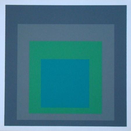 Siebdruck Albers - Homage to the Square - Renewed Hope, 1962