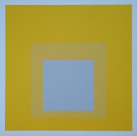 Siebdruck Albers - Homage to the Square - Selected, 1959