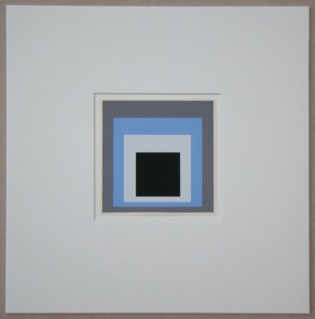 Siebdruck Albers - Homage to the Square - Unconditioned