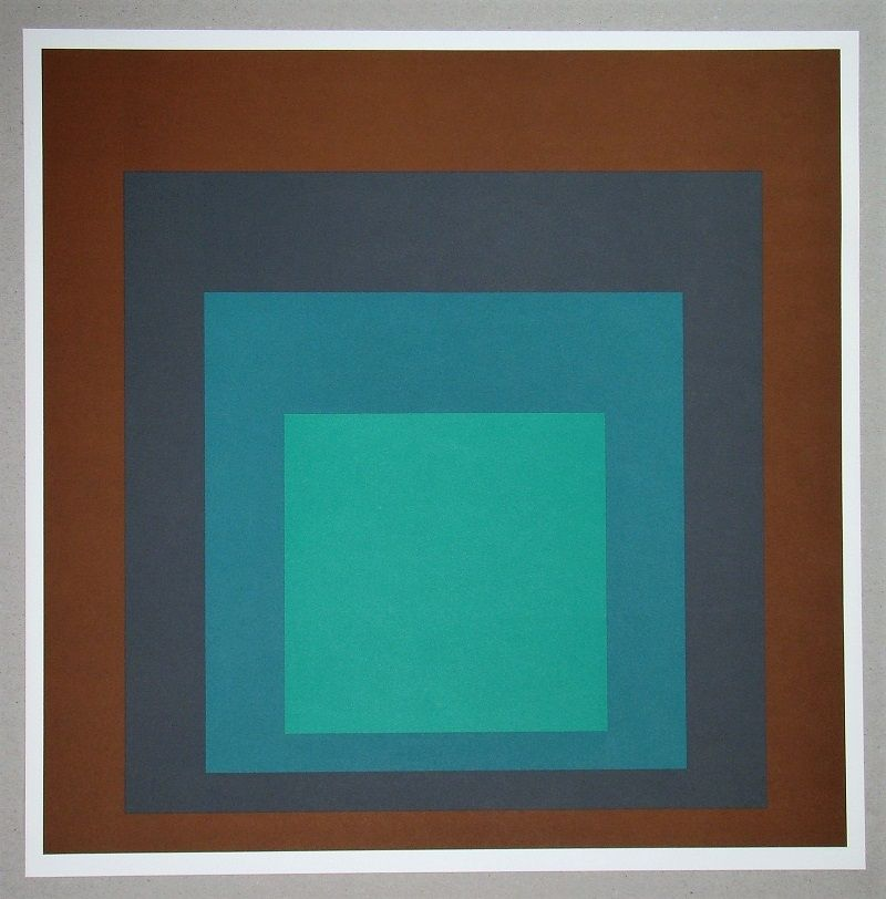 Siebdruck Albers - Homage to the Square SP-1
