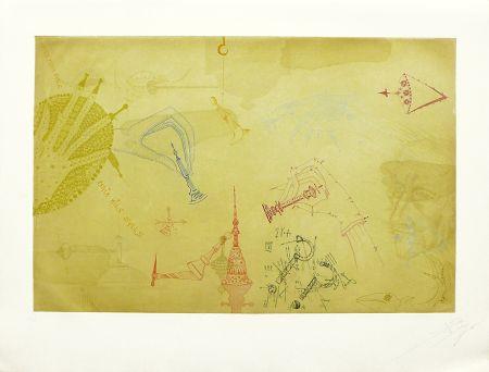 Radierung Und Aquatinta Ponç - Homenaje a Marcel Duchamp