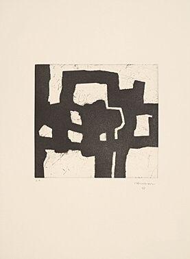 Radierung Und Aquatinta Chillida - Homenaje a Picasso