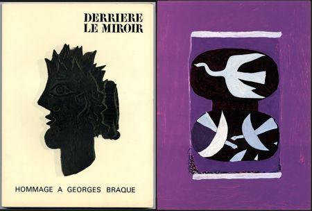 Illustriertes Buch Braque - HOMMAGE À GEORGES BRAQUE. Derrière le miroir N°144-145-146. Mai 1964.