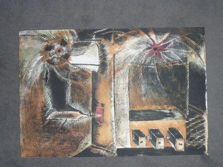 Lithographie Toledo - Hommage à Joan Prats