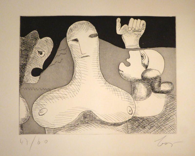 Stich Baj - Hommage à Le Corbusier