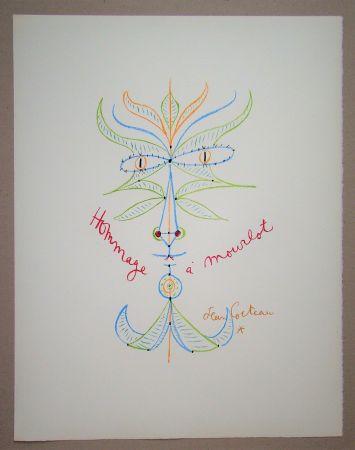 Lithographie Cocteau - Hommage à Mourlot