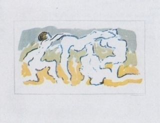 Lithographie Tanning - Hommage à Penrose