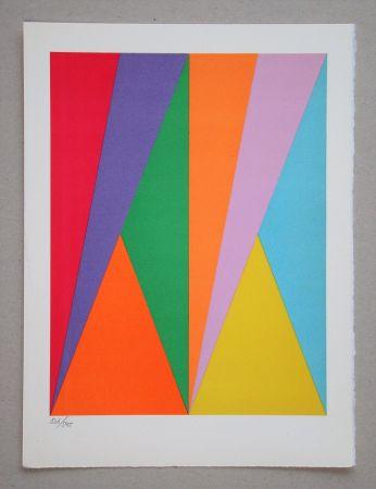 Lithographie Bill - Hommage à San Lazzaro