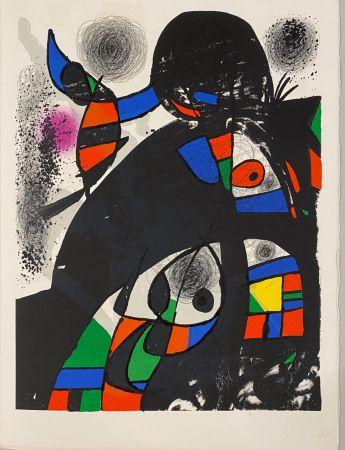 Lithographie Miró - Hommage à San Lazzaro