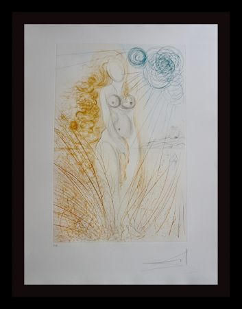 Stich Dali - Hommage a Albrecht Durer Birth of Venus