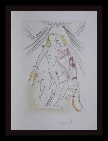 Stich Dali -  Hommage a Albrecht Durer Venus Mars Cupidon