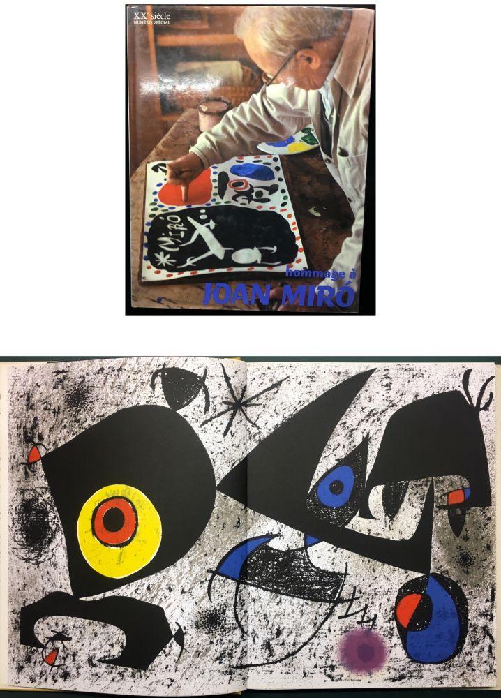 Illustriertes Buch Miró - HOMMAGE A JOAN MIRÓ - XXe Siècle - N° spécial 1972