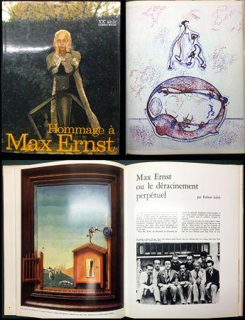 Illustriertes Buch Ernst - HOMMAGE A MAX ERNST - XXe Siècle - N° spécial 1971.
