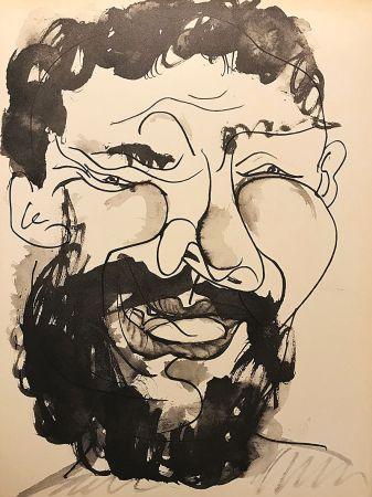 Keine Technische Picasso (After) - Homme barbu souriant