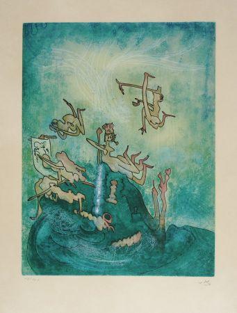 Radierung Und Aquatinta Matta - HOM'MERE-Chaosmos