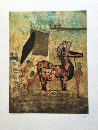 Radierung Und Aquatinta Matta - Hom'Mere Chaosmos, Vol. I
