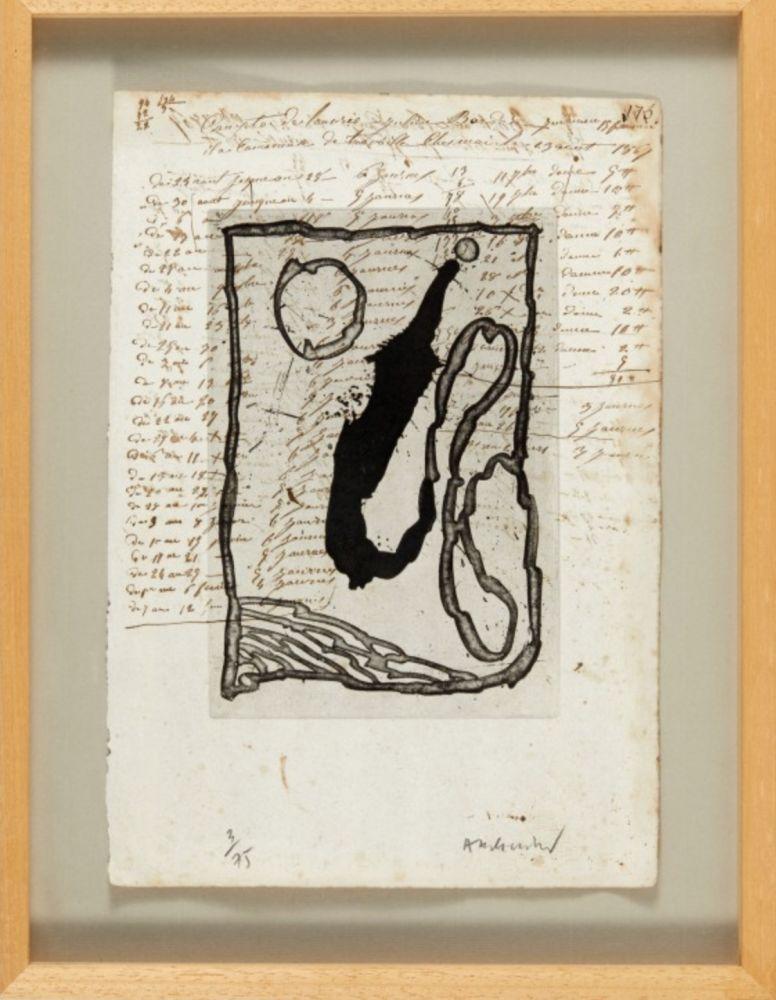 Aquatinta Alechinsky - Hors calendrier