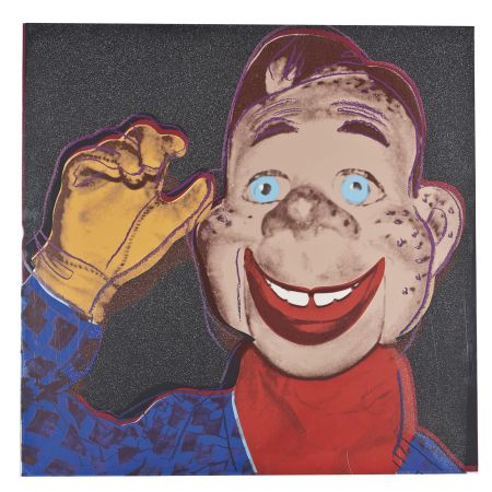 Siebdruck Warhol - Howdy Doody (FS II.263)