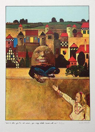 Siebdruck Blake - Humpty Dumpty...