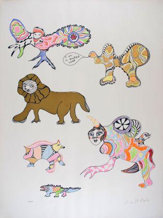 Siebdruck De Saint Phalle - I am a beautiful camel (Nana Power)