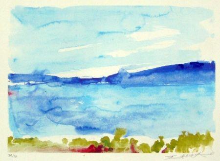 Lithographie Zao - Ibiza