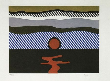 Radierung Und Aquatinta Lichtenstein - Illustration For