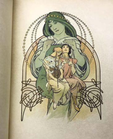 Illustriertes Buch Mucha - ILSÉE, PRINCESSE DE TRIPOLI. 132 lithographies de Mucha