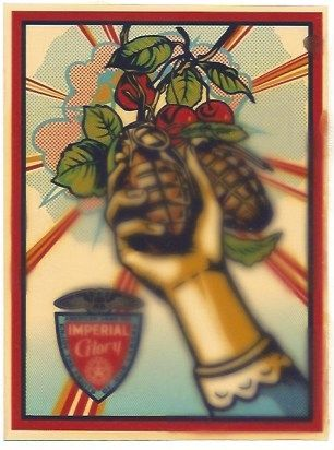 Siebdruck Fairey - Imperial Glory