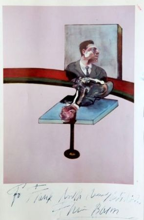 Plakat Bacon - In Memory of George Dyer, from a triptych (1971)