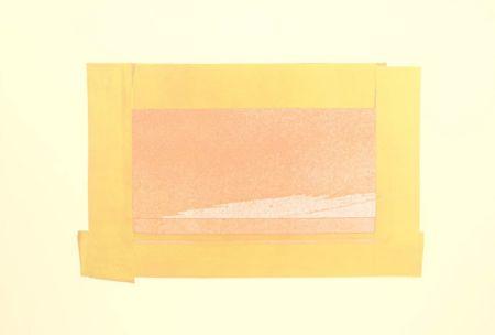 Siebdruck Hodgkin - Indian Views – Plate H