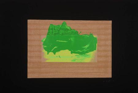 Siebdruck Hodgkin - Indian Views Suite – Plate D