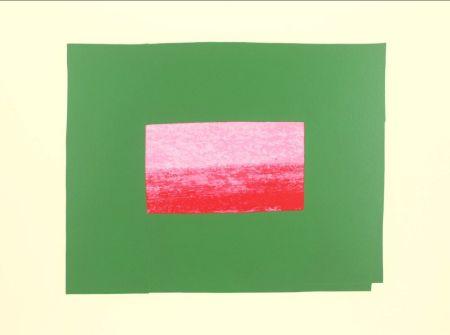 Siebdruck Hodgkin - Indian Views Suite – Plate I