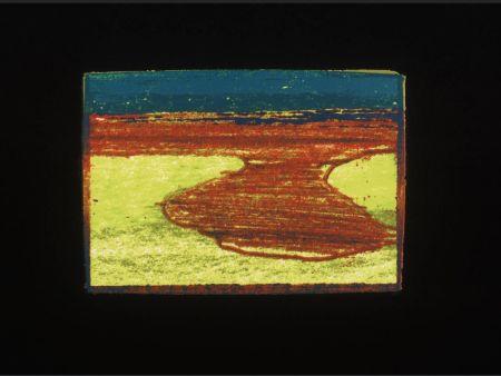 Siebdruck Hodgkin - Indian Views Suite – Plate L