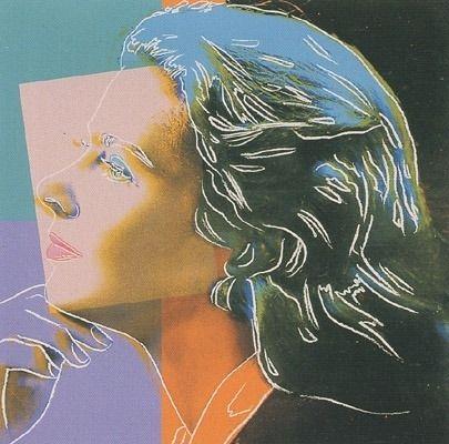 Siebdruck Warhol - Ingrid Bergman - Herself