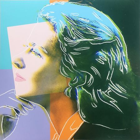 Siebdruck Warhol - Ingrid Bergman: Herself