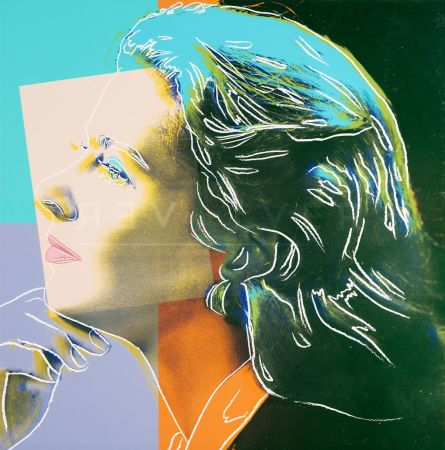 Siebdruck Warhol - Ingrid Bergman, Herself (Fs Ii.313)