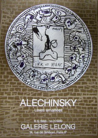 Plakat Alechinsky - Ink et nunc
