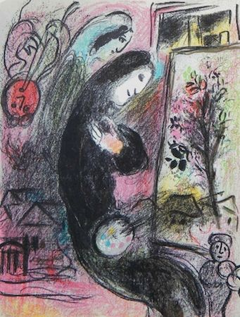 Lithographie Chagall - Inspiration