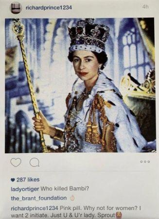 Multiple Prince - Instagram New Portraits - Queen Elizabeth II ,